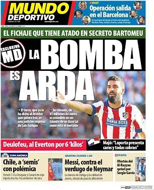Barcelona join race for Chelsea target Arda Turan... and ...