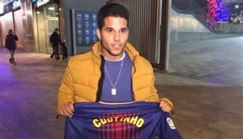 Barcelona: Peruano compra la primera camiseta de Coutinho ...