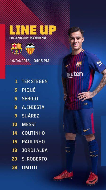 Barcelona - Valencia, la Liga Santander de futbol hoy en ...