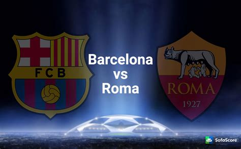 Barcelona vs Roma   Match preview and Live stream ...