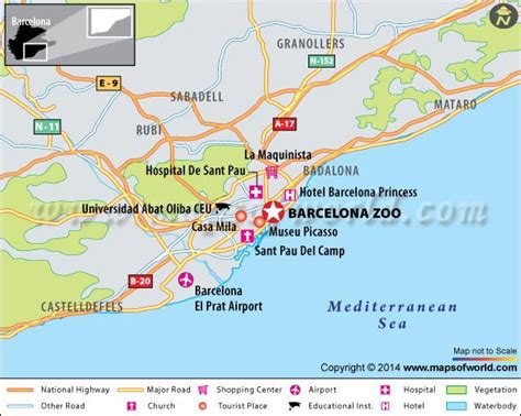 Barcelona Zoo, Spain - Map, Facts, Location, Best time to ...