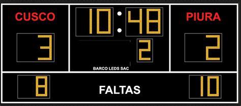 BARCO LEDS SAC | Marcadores Electronicos Deportivos ...