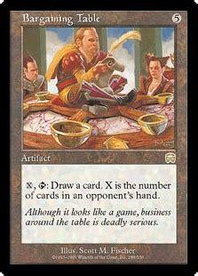 Bargaining Table   Artifact   Cards   MTG Salvation