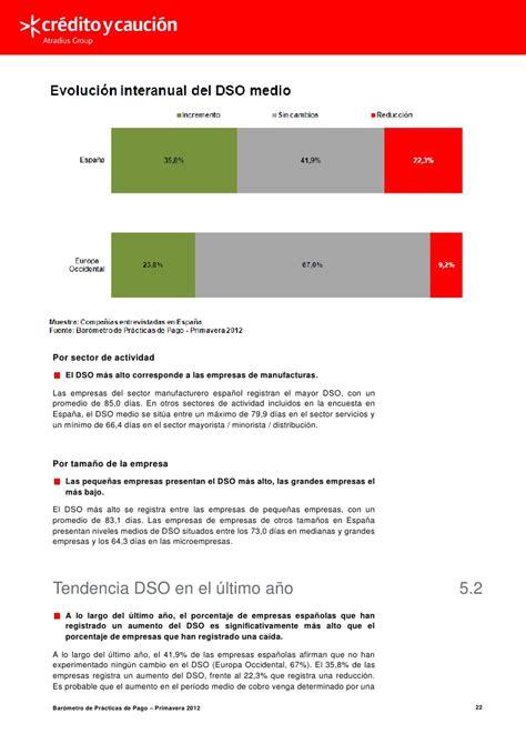 Barómetro de prácticas de pago en españa  iberinform ...