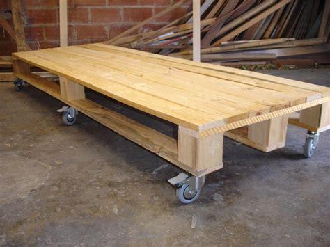 bases de madera para grandes maquinas