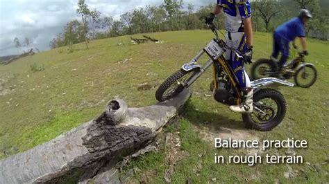 Basic trials training: how to balance on a trials bike ...