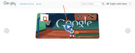 Basketball 2012 Google Doodle   Play Basketball ...