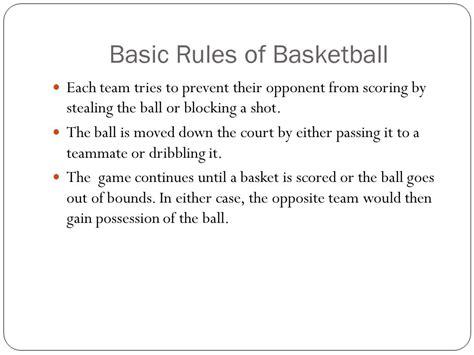Basketball Mr. Schmidt. - ppt video online download