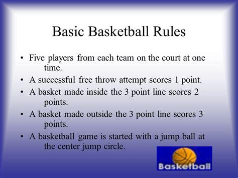 Basketball Rules - Basketball Wallpaper