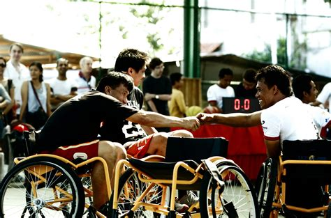 Basketball wheelchairs to 60 disabled persons Bali ...
