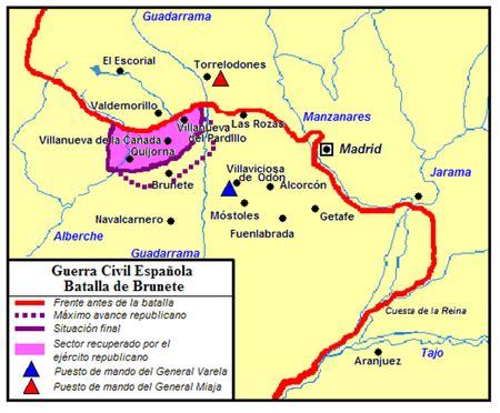 Batalla de Brunete - Viquipèdia, l'enciclopèdia lliure