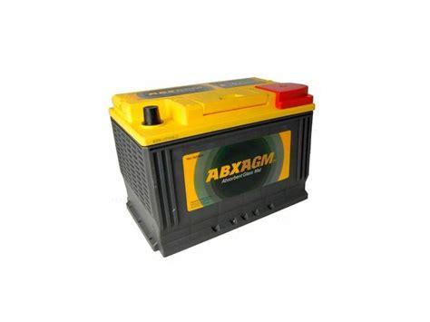Bateria AGM 70 Amperios Abx Agm | Electricidad 00102 ...