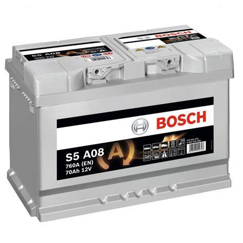 Batería BOSCH S5A08 12V 70Ah AGM Start&Stop | Baterías de ...