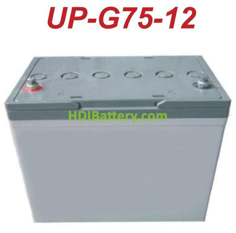 Bateria de gel 12 Voltios 70 Amperios  260x168x208mm  U  POWER