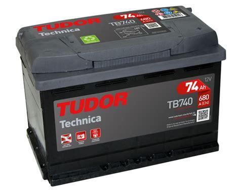Batería Tudor TB740 - 74Ah y 680A. Mejor precio Online ...