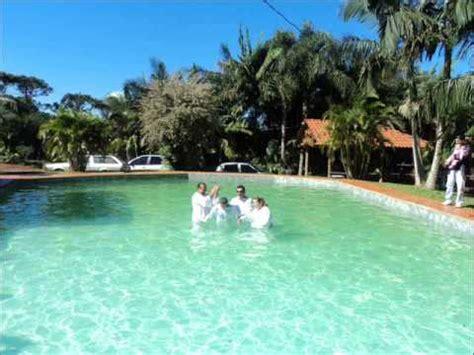 batismo chacara rancho fundo igreja o Brasil para cristo ...