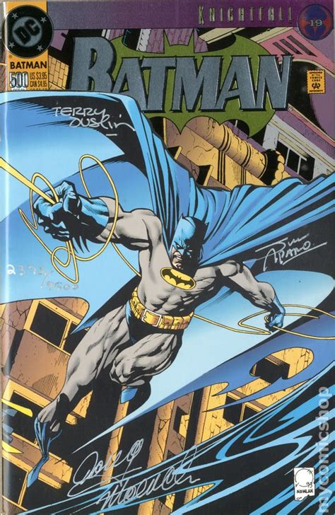 Batman comic books issue 500