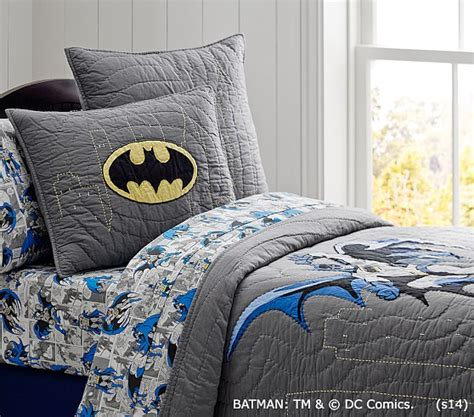 BATMAN™ Quilt | Pottery Barn Kids