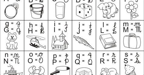 Baú da Web: Alfabeto ilustrado 4 tipos de letras colorir