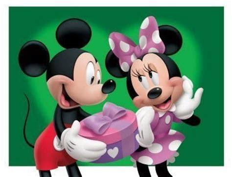 Baú de Figuras: Minnie e Mickey da Disney para Decoupage