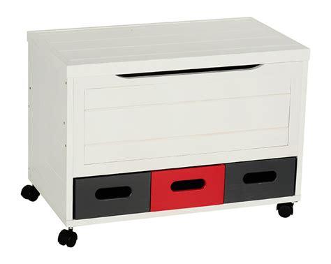Baúl de madera 3CAJONES BLANCO Ref. 16431541 - Leroy Merlin