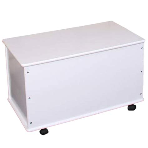 Baúl para la ropa en madera de pino, blanco, 73 cm - Cesta ...