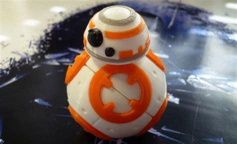 BB 8 de Star Wars para imprimir en 3D