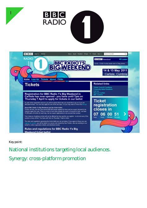 BBC Radio 1 s Big Weekend