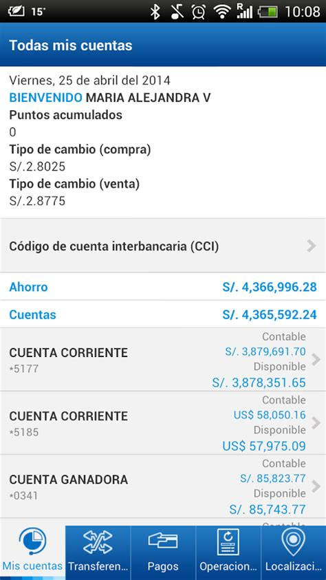 BBVA Continental   Banca Móvil App Ranking and Store Data ...