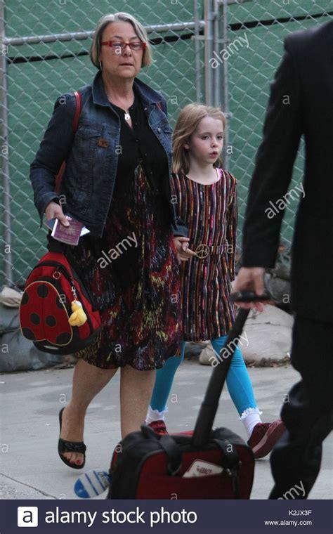 Beatrice McCartney. Paul McCartney walks through LAX with ...