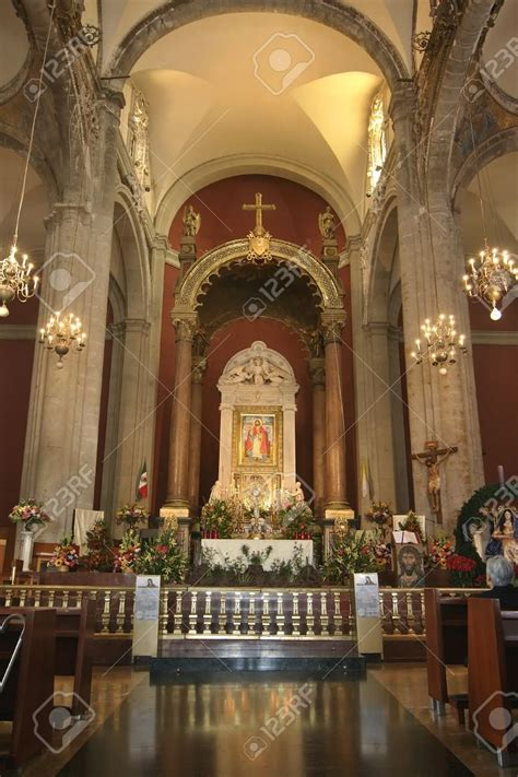 Beautiful Altar Of The Old Basilica of Our Lady of ...