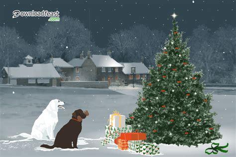 Beautiful christmas tree decor gifs   Downloadfeast