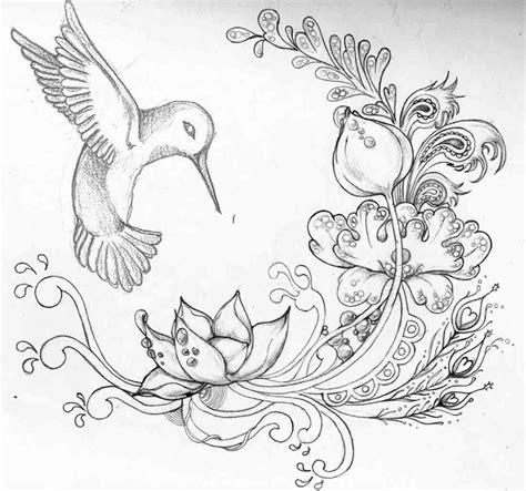 Beautiful Drawings Of Butterflies On Flowers Painting ...