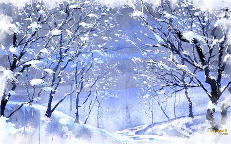 Beautiful Wallpapers: Snowfall Wallpaper