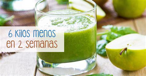 Bebida para perder peso rápidamente y de forma natural