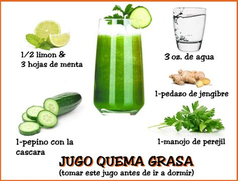 Bebida Quema Grasa | booboolin.com