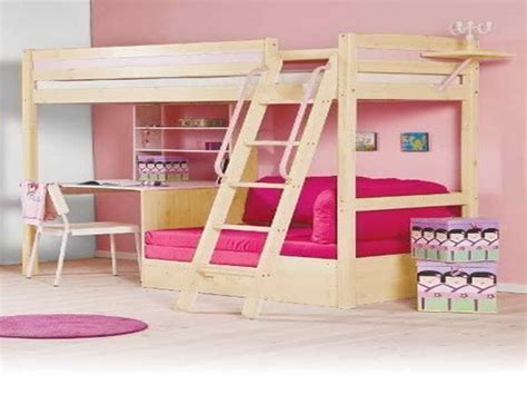 Bedroom : Amazing Loft Bed With Desk Underneath Loft Bed ...