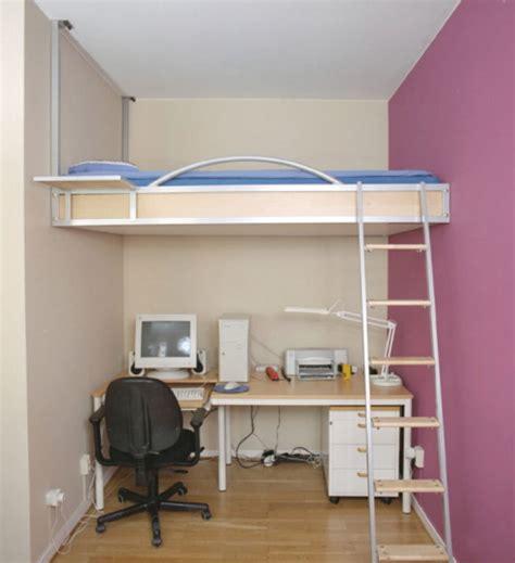 Bedroom: Small Space Loft Bedroom Design Ideas