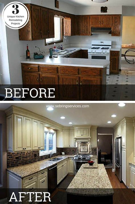 Before & After: 3 Unique Kitchen Remodeling Projects ...