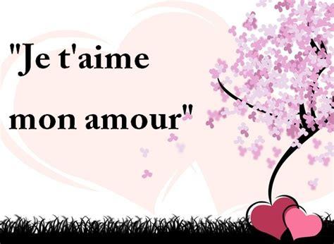 Belas Frases de Amor:  Je t aime mon amour