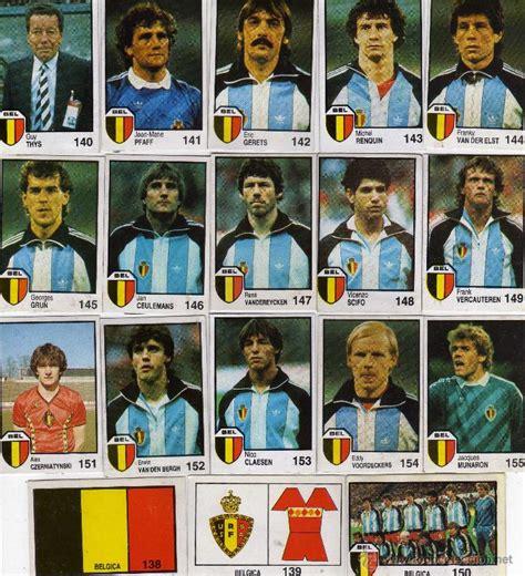 belgica seleccion mundial mexico 86,completo sa   Comprar ...