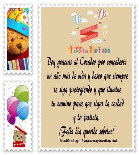 Bellas frases de cumpleaños para mi sobrino | Saludos de ...