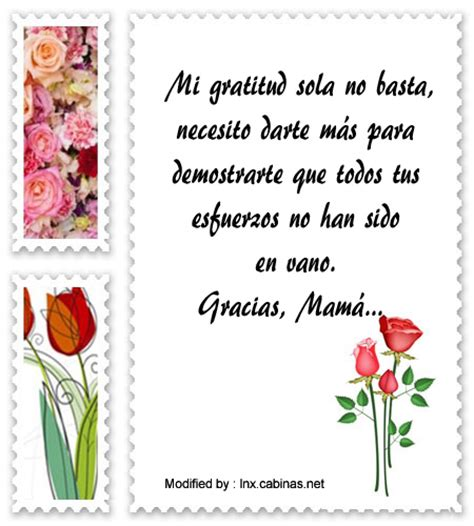 Bellas palabras de reconocimiento para mi Madre | Mensajes ...