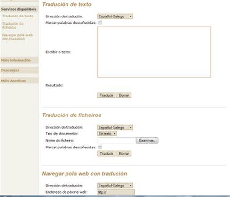 Bem informado - Google España: diccionario galego español