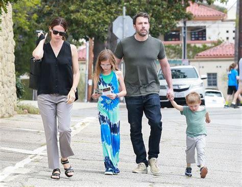 Ben Affleck and Jennifer Garner take their three kids to ...