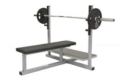 Bench Press Flat with support  Olympic    Your Fit Store