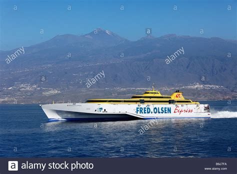Benchijigua Express Ferry of the Fred Olsen Company ...