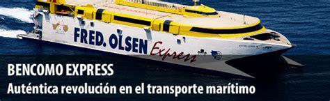 Bencomo Express Ferry Canarias   Flota barcos Fred Olsen ...