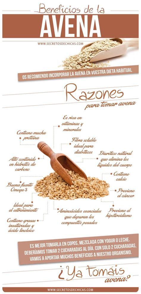 Beneficios de la avena | Infografías y Remedios