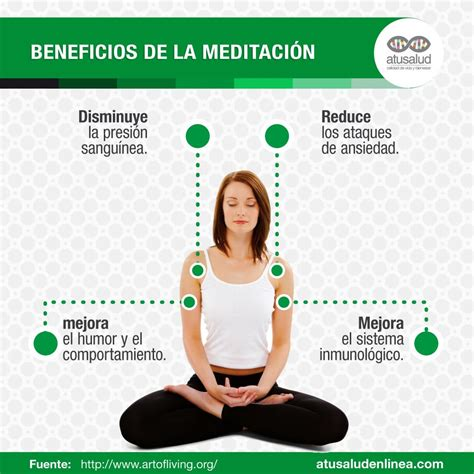 Beneficios de la meditación - atusaludenlinea.com
